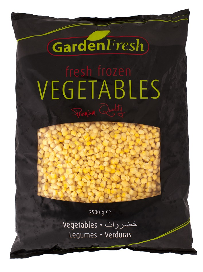 Wholesale frozen mais kernels - Garden Fresh by Kühne & Heitz