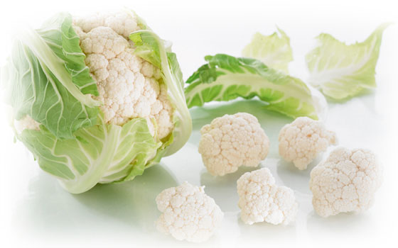 Wholesale frozen cauliflower - Garden Fresh by Kühne & Heitz