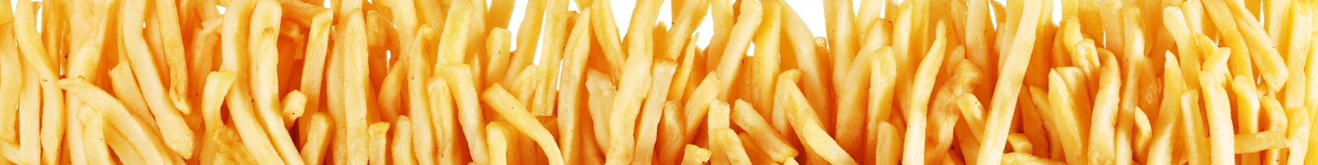 frozen pre-fried french fries, French fries