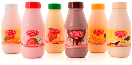 COUNTRE Dairy flavoured full cream milk
