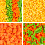 vegetables corn beans carrots