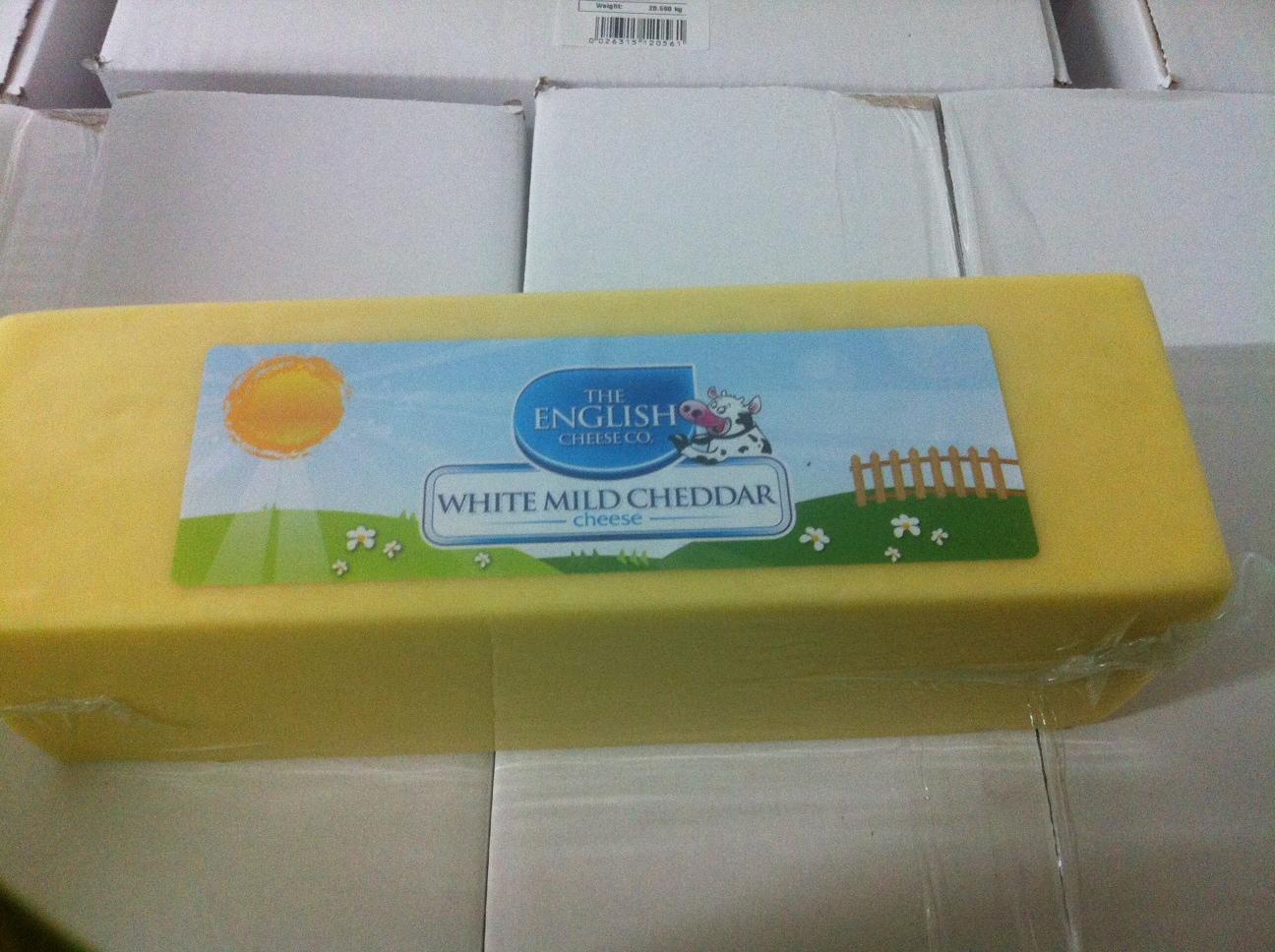 White Mild Cheddar Cheese